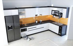 tủ bếp acrylic tại Hải Phòng